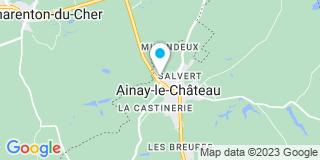 Plan Carte Servo Jean-Luc à Ainay-le-Château