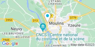 Plan Carte Stéphane Kherroubi Couverture à Moulins