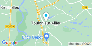 Plan Carte Tauveron Kevin à Toulon-sur-Allier