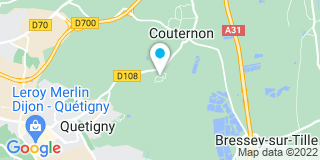 Plan Carte C.E.M. (Charpente Escalier Menuiserie) à Couternon