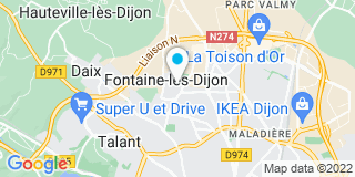 Plan Carte Collin Burdy à Fontaine-lès-Dijon