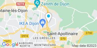 Plan Carte Couverture Dijonnaise à Saint-Apollinaire