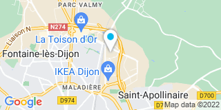 Plan Carte Curta et Fils  à Dijon