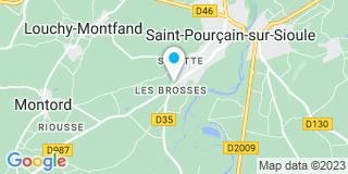 Plan Carte Dugué Steve à Saint-Pourçain-sur-Sioule