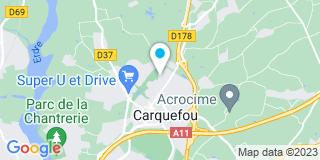Plan Carte Le Diablotin, ramoneur à Carquefou