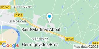 Plan Carte Luc Annonier Pro Ramonage 45 à Saint-Martin-d'Abbat