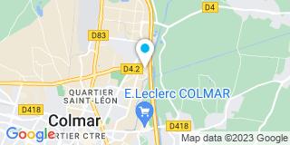 Plan Carte Nicolas R. Couverture à Colmar