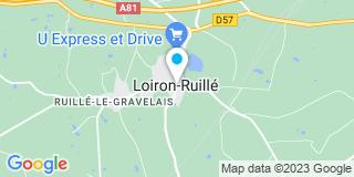 Plan Carte Poupin réalisation à Loiron