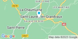 Plan Carte Delacroix Paul et Fils à Saint-Laurent-en-Grandvaux