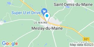 Plan Carte Og menuiserie à Meslay-du-Maine