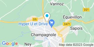 Plan Carte Tissot Menuiserie Charpente à Champagnole