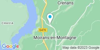 Plan Carte Capelli Berrod à Moirans-en-Montagne