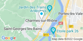 Plan Carte Zanconaro à Charmes sur Rhone