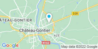 Plan Carte Serru à Château-Gontier