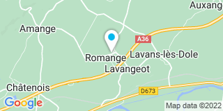 Plan Carte Laranjeira et Duchaud à Romange