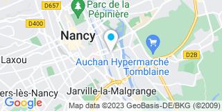 Plan Carte Les bois de lorraine à Nancy