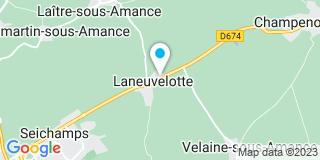 Plan Carte Bourcy à Laneuvelotte