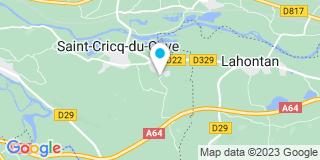 Plan Carte Le Goulven Jérôme à Saint-Cricq-du-Gave