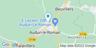 Plan Carte Perrero Charles à Audun-le-Roman