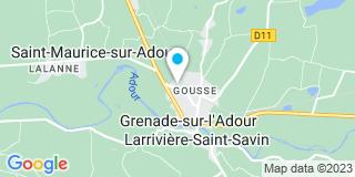 Plan Carte Barrère à Grenade-sur-l'Adour