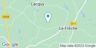 Plan Carte Carrere Jacques à Le Frêche