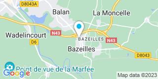 Plan Carte Etablissements Bonne à Bazeilles