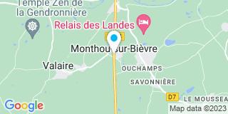 Plan Carte Gauthier Jack Menuiserie à Monthou-sur-Bièvre