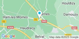 Plan Carte Bulcourt Aubry à Tournes