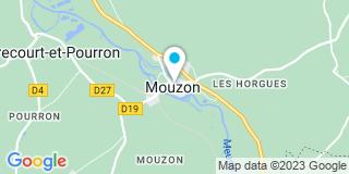 Plan Carte MCF Menuiserie Christophe Frenois à Mouzon