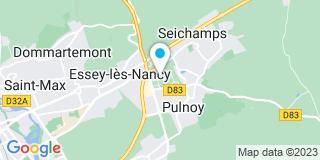 Plan Carte Lh fermetures à Essay-les-Nancy