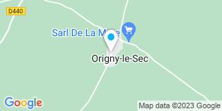 Plan Carte Entreprise Beau-Masson à Origny-le-Sec