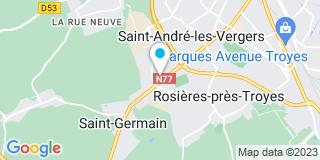 Plan Carte Aub'Bois à Saint André-les-vergers