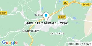 Plan Carte Intrabois à Saint-Marcellin-en-Forez