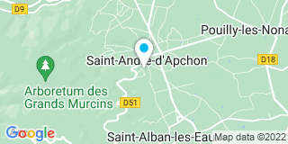 Plan Carte Menuiserie Pouzerat à Saint-André-d'Apchon