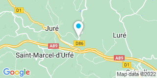 Plan Carte Pallanche à Juré