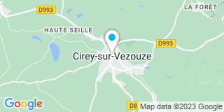 Plan Carte Lhuillier miroiterie à Cirey-sur-Vezouze