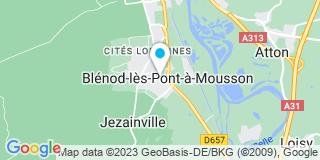 Plan Carte Andrejak Fabrice à Blenod les Ponts à Mousson