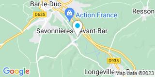 Plan Carte Menuiserie Lefevre à Savonnières-devant-Bar