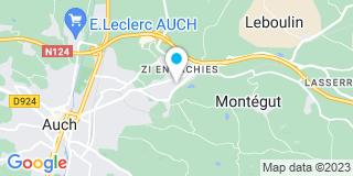 Plan Carte Sa Dazeas à Auch