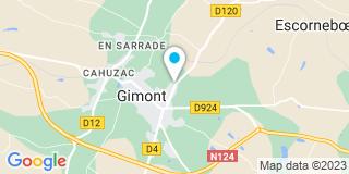 Plan Carte Ets Teani à Gimont