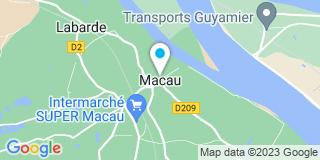 Plan Carte Atelier Medocain à Macau