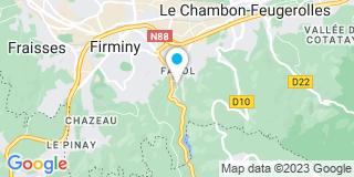 Plan Carte Lardon à Firminy