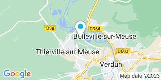 Plan Carte Janton menuiserie à Thierville-sur-Meuse