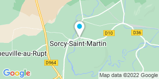 Plan Carte Bati fenêtres à Sorcy-Saint-Martin