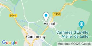 Plan Carte Lg Batirenot à Vignot