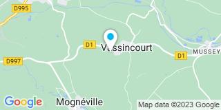 Plan Carte Apb menuiserie à Vassincourt