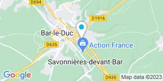 Plan Carte Les plaquistes du barrois à Bar-le-Duc