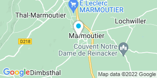 Plan Carte Klein Menuiserie à Marmoutier