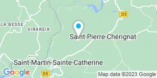 Plan Carte Grizon à Saint-Pierre-Cherignat