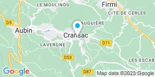 Plan Carte Bouteille Et Fils à Cransac